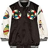 Anna Sui Embellished Cotton-Blend Bomber Jacket ($1,425)
