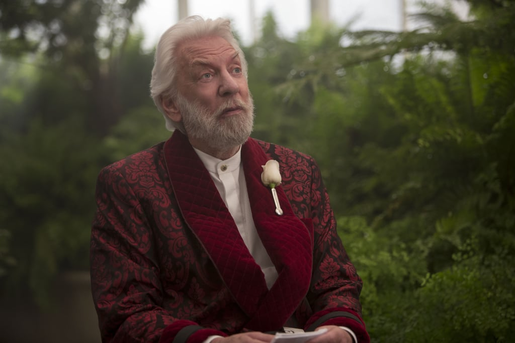 Donald Sutherland stars as President Snow. | The Hunger ...