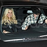 Jessica Simpson and Eric Johnson Have a Nobu Night Out