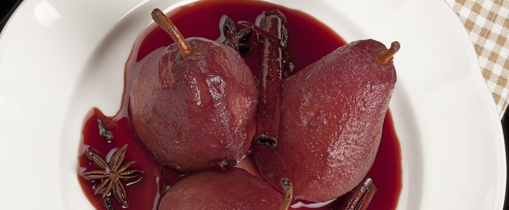 MasterChef Callum Hann's Red Wine Poached Pears Recipe
