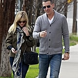Reese Witherspoon and Jim Toth walked side by side.