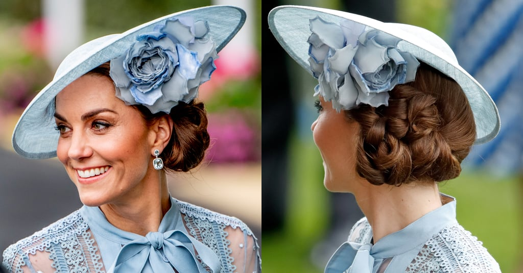Kate Middleton's Folded Side-Do, 2019