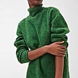 Arket Rib-Knitted Alpaca Blend Jumper