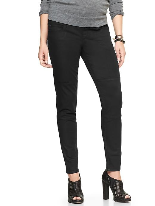 Gap 1969 Demi Panel Coated Legging Jeans