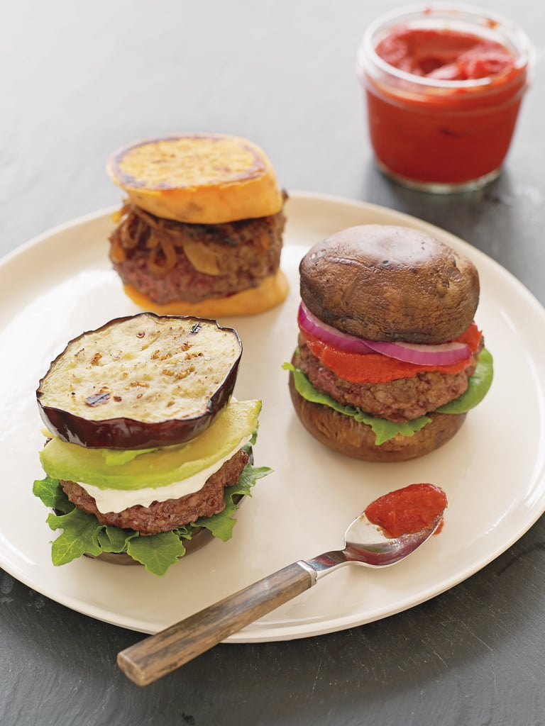 Vegetable Bun Burgers