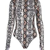LAUWEE Snakeskin Bodysuit