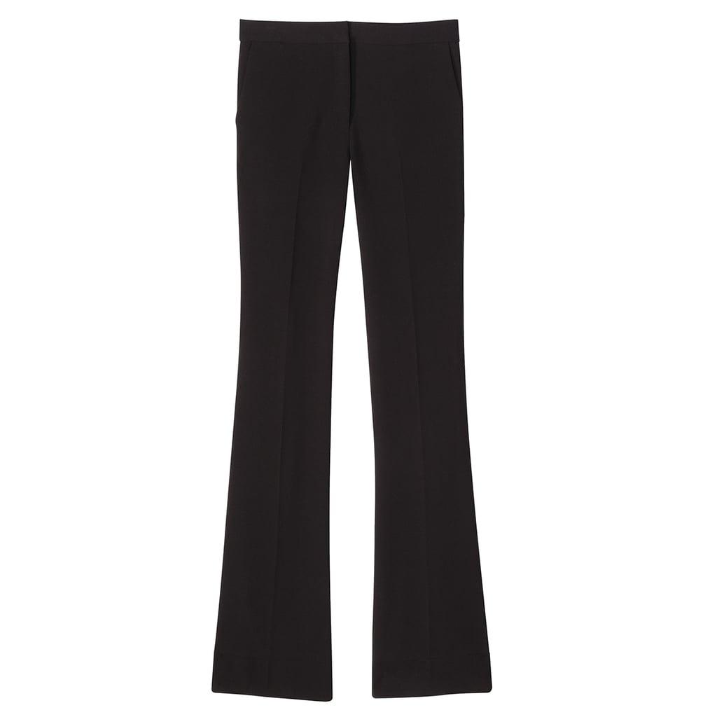 Black Twill Flared Trouser ($40)