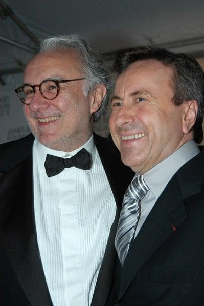 Alain Ducasse and Daniel Boulud
