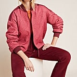 Vicenta Quilted Bomber Jacket