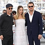 Brad Pitt and Leonardo DiCaprio at Cannes Film Festival 2019