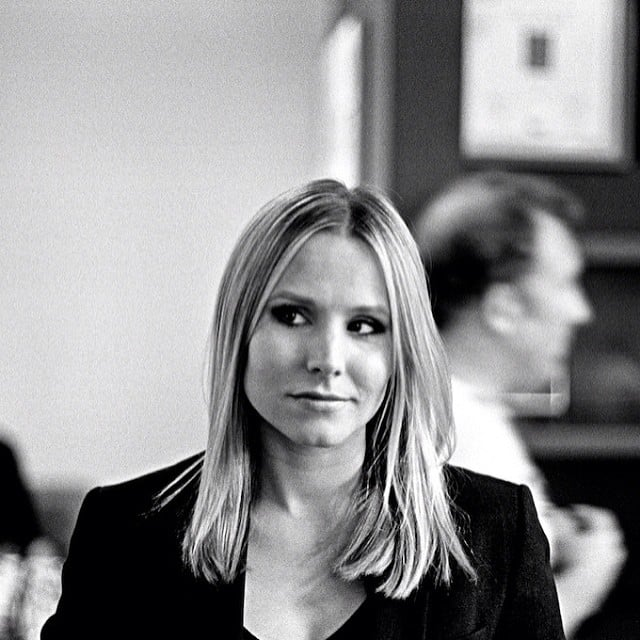 Veronica looks pensive. Source: Instagram user mrchrislowell
