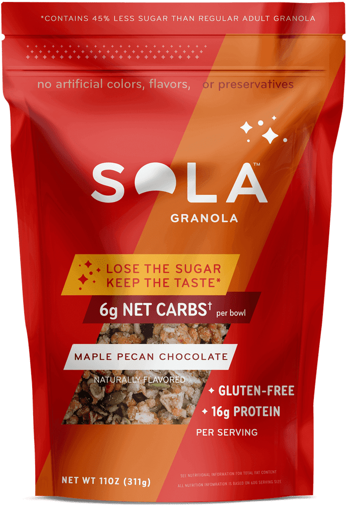 Sola Maple Pecan Chocolate Granola
