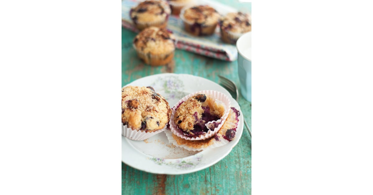 Blueberry Lemon Muffins With Cinnamon Sugar Topping ...