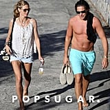Heidi Klum and Vito Schnabel's Saturday in St. Barts was filled with sun.