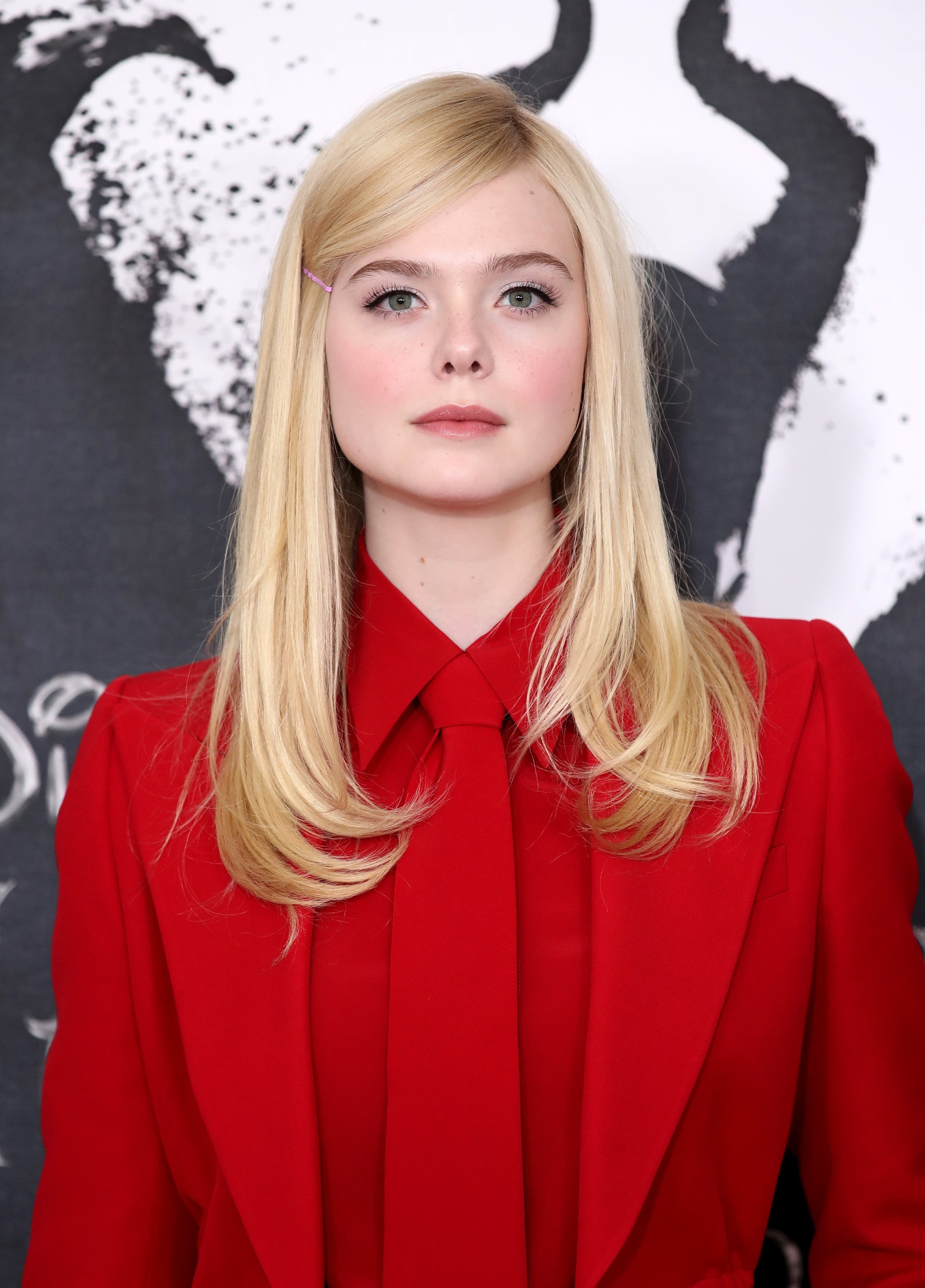LONDON, ENGLAND - OCTOBER 10: Elle Fanning attends a photocall for