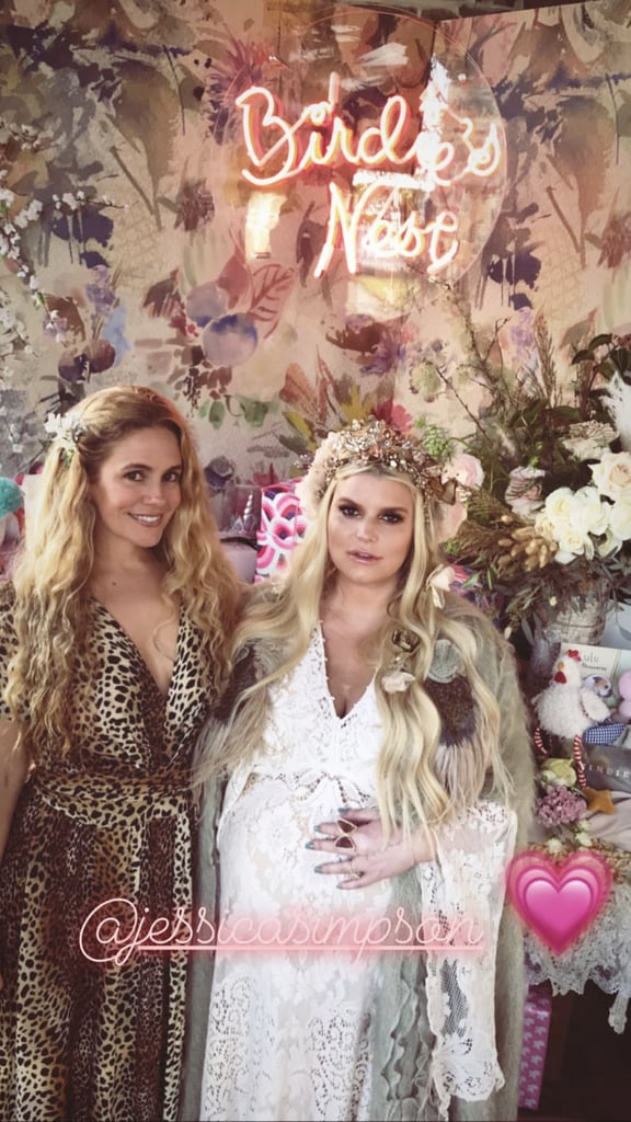 Jessica Simpson Baby Shower Pictures January 2019 Popsugar Celebrity