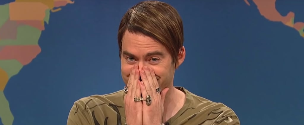 Bill Hader Laughing During Saturday Night Live Skits Videos