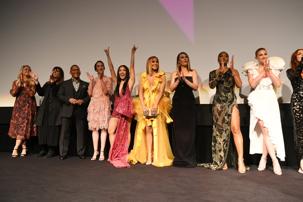 The Hustlers Cast and Crew at the Premiere in Toronto