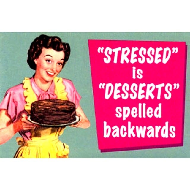 Stress Makes Me Want to Eat