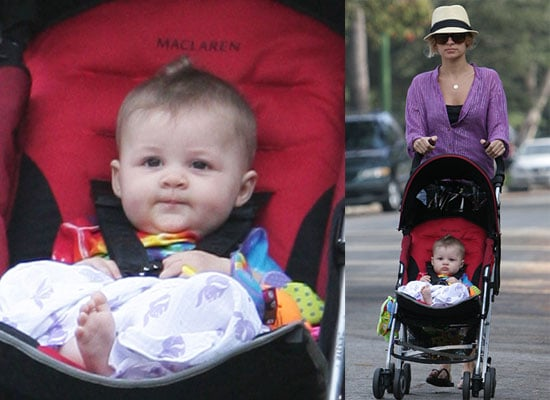 Photos of Nicole Richie and Celebrity Baby Harlow Madden Out For A Walk in LA