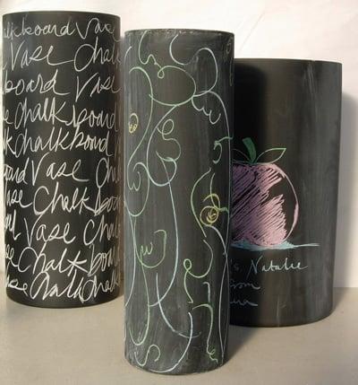 Crave Worthy: Uma Chalkboard Vase