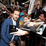 Ryan Gosling at The Nice Guys Premiere in LA May 2016