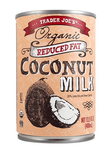 Organic Reduced Fat Coconut Milk ($1)