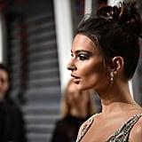 Emily Ratajkowski Makeup | Vanity Fair Oscars Party 2017