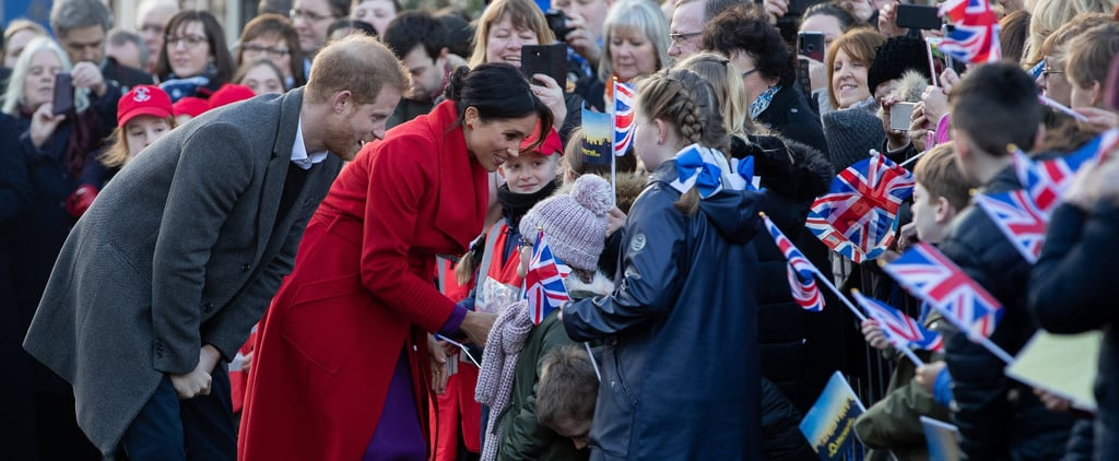 Meghan Markle Prince Harry Let Blind Kids Touch Their Faces