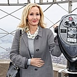 J.K. Rowling visited NYC's Empire State Building on Thursday.