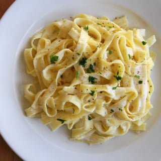 Healthy Fettuccine Alfredo Recipe