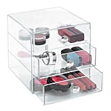 "Favorite organizer: ""I love these clear drawers (starting at $17) because I can store and organize my makeup without hiding it. Makeup is just too pretty to not be seen."""