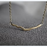 Time Field Crack Necklace