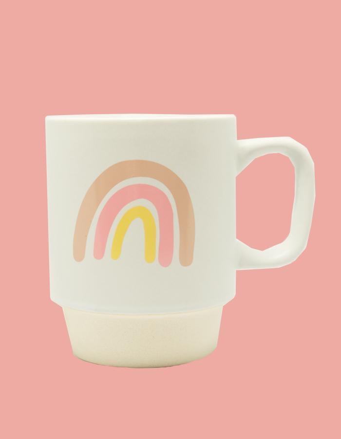 Chalkfulloflove Rainbow Mug