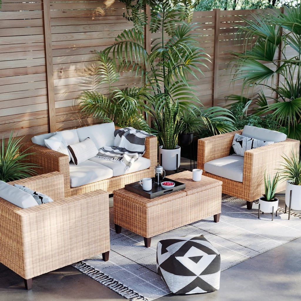 Fullerton 4-Piece Patio Conversation Set