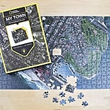 "National Geographic ""My Town Aerial Map Jigsaw Puzzle"