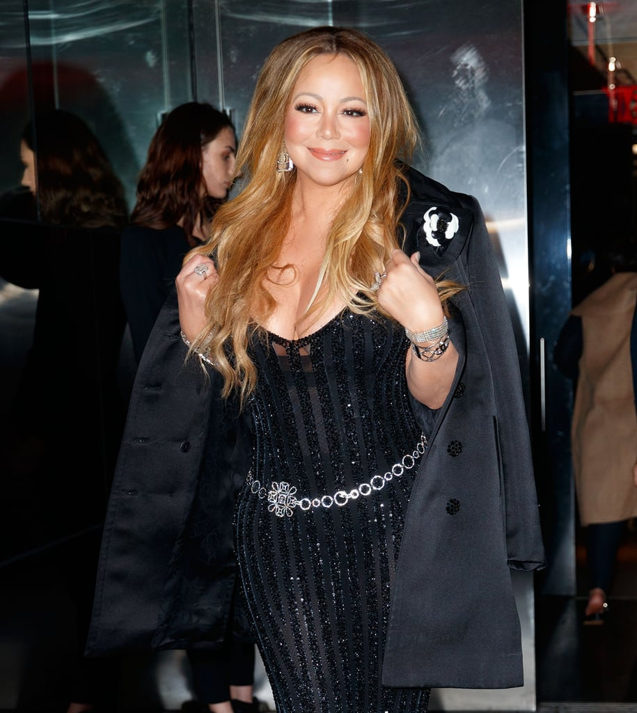 Mariah Carey Wearing James Packer Engagement Ring