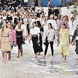 Kaia Gerber at Fashion Week Spring 2019