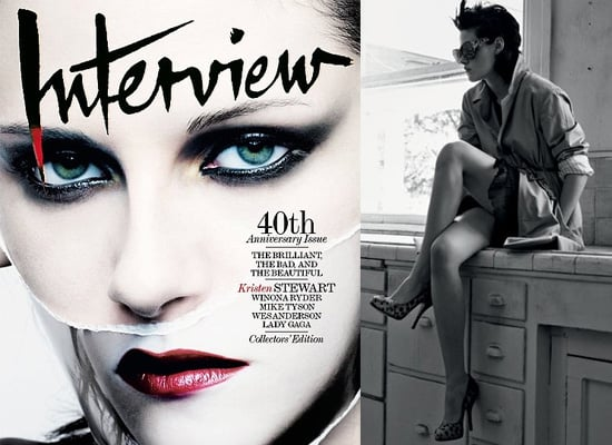 Kristen Stewart in Interview Magazine