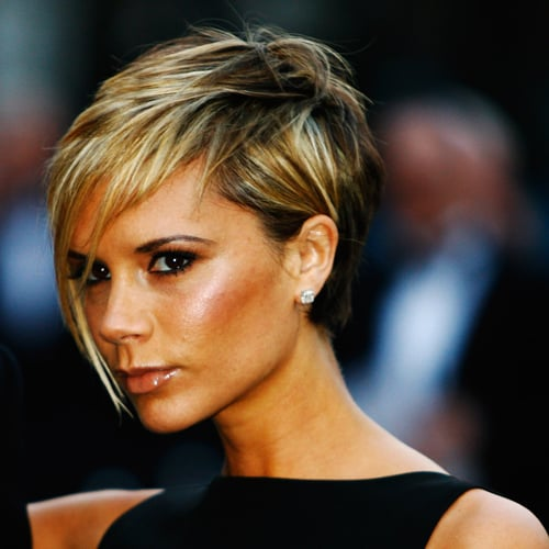 Posh went for a pixie crop with a long fringe in 2007.