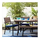 Mantega Faux-Wood Folding Patio Dining Table