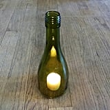 Wine Bottle Candle Topper