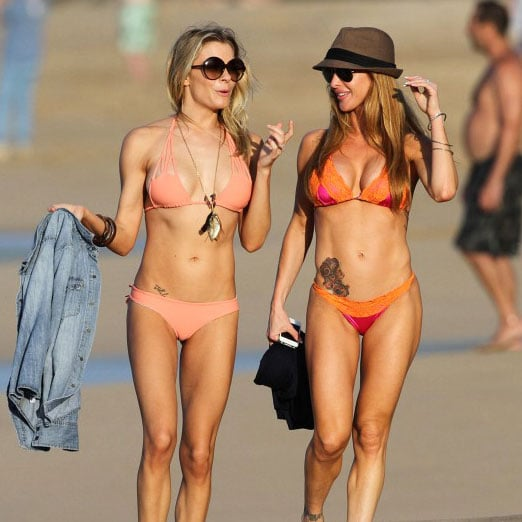 LeAnn Rimes Wearing Small Bikini in Hawaii Pictures