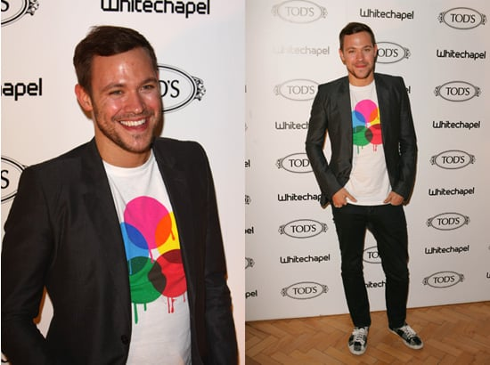 Will Young at TOD's Art Plus Film Party