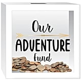 """Our Adventure Fund"" Piggy Bank"