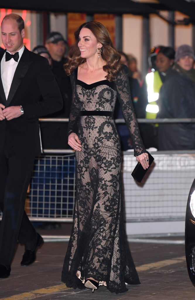 Kate Middleton Just Brought Back the Naked Dress, In the Most Elegant Way Possible