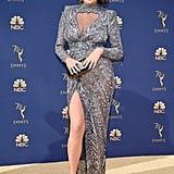 Chrissy Teigen Zuhair Murad Dress at the 2018 Emmys