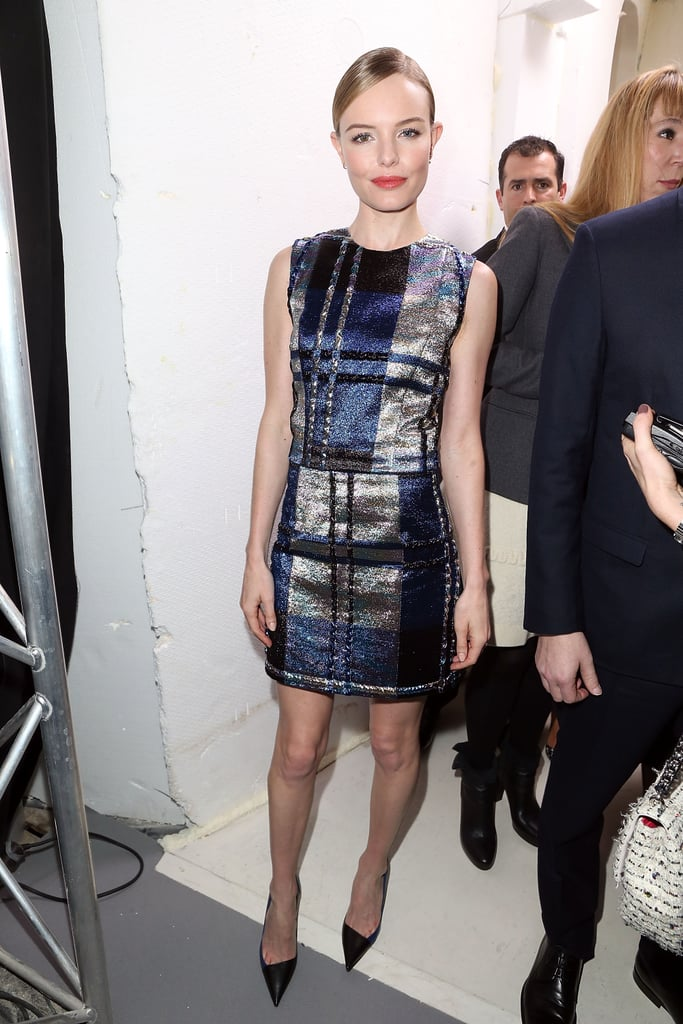 Kate Bosworth at the Dior Haute Couture Show