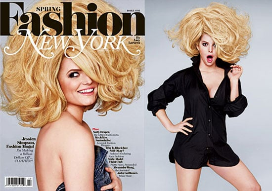 Pictures of Jessica Simpson on Cover of New York Magazine