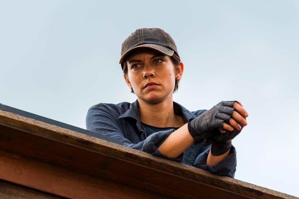 Maggie's Glenn Tribute in The Walking Dead Midseason Finale